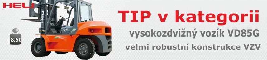 Vysokozdvižné vozíky čelní dieselové 5 - 10 t