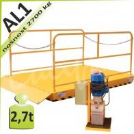 Zdvihací plošina AL1