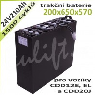 Trakční Baterie 24V / 210Ah
