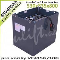 Trakční Baterie 48V / 480Ah