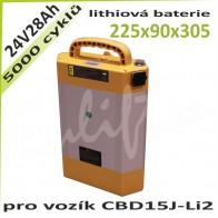 Lithiová baterie 24V / 28Ah