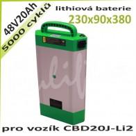 Lithiová baterie 48V / 20Ah