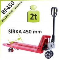 Paletový vozík BF450