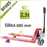 Paletový vozík BF685