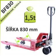 Paletový vozík BF830