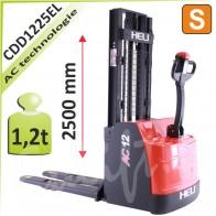 Vysokozdvižný vozík CDD1225EL
