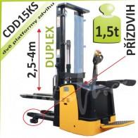 Vysokozdvižný vozík CDD15KS