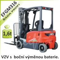 Akumulátorový vozík EFGM316