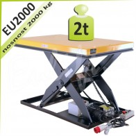 Zdvihací plošina EU2000