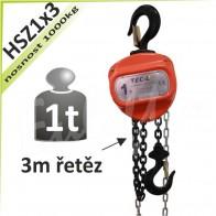 Kladkostroj řetězový HSZ1x3