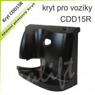 Kryt CDD15R plastový hlavní