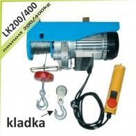 Kladkostroj lanový LK200/400