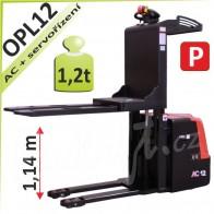 Vysokozdvižný vozík OPL12