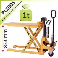 Nůžkový stůl PL100S