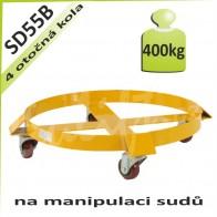 Podvozek na sudy SD55B