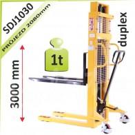 Vysokozdvižný vozík SDJ1030