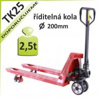 Paletový vozík TK25