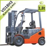 Vysokozdvižný vozík VD18 H3 diesel