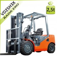 Vysokozdvižný vozík VD25 H3X diesel
