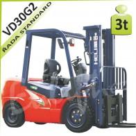 Vysokozdvižný vozík VD30 G2 diesel