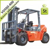 Vysokozdvižný vozík VD50G-600 diesel