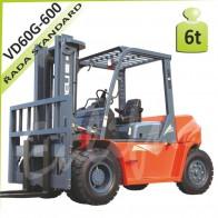 Vysokozdvižný vozík VD60G-600 diesel