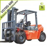 Vysokozdvižný vozík VD70G-600 diesel
