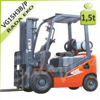 Vysokozdvižný vozík VG15 H3 LPG/BENZÍN