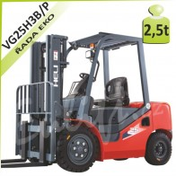 Vysokozdvižný vozík VG25 H3 LPG/BENZÍN