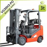 Vysokozdvižný vozík VG30 H3 PLNÉ OBRUČE