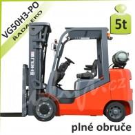 Vysokozdvižný vozík VG50 H3 PLNÉ OBRUČE