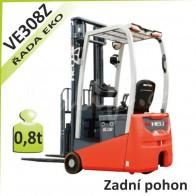 Akumulátorový vozík VE308Z se zadním pohonem