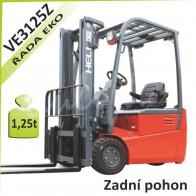Akumulátorový vozík VE3125Z se zadním pohonem