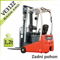 Akumulátorový vozík VE312Z se zadním pohonem