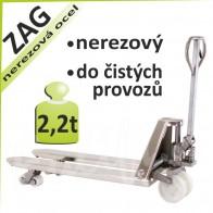 Paletový vozík ZAG