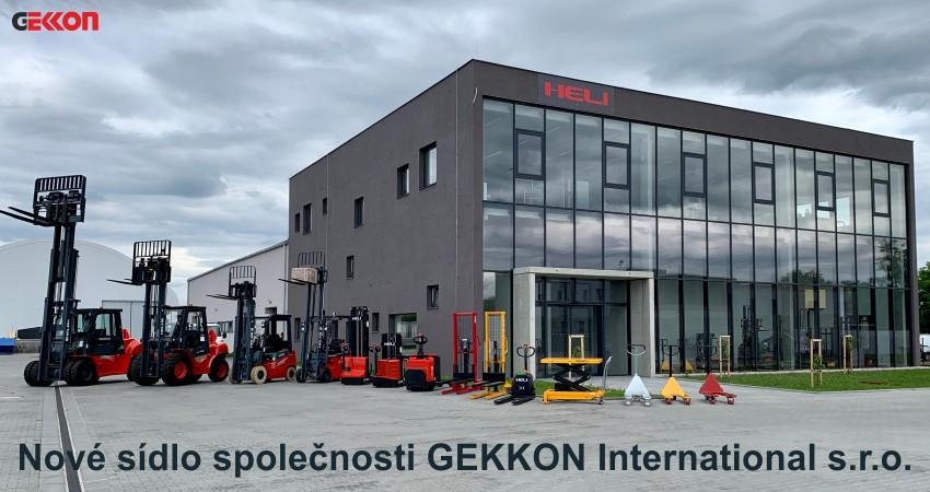 Foto nové budovy firmy Gekkon International s.r.o.