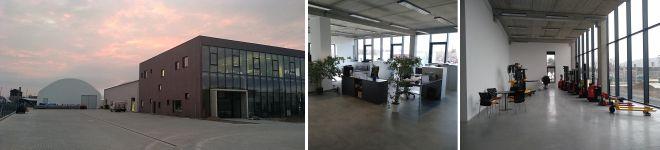 foto budovy a kanceláří